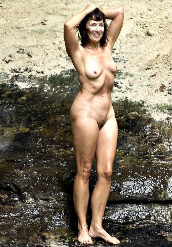 Fran Norek posing nude