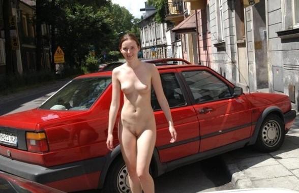 Nude Public Pics - Natural Breasts In Public