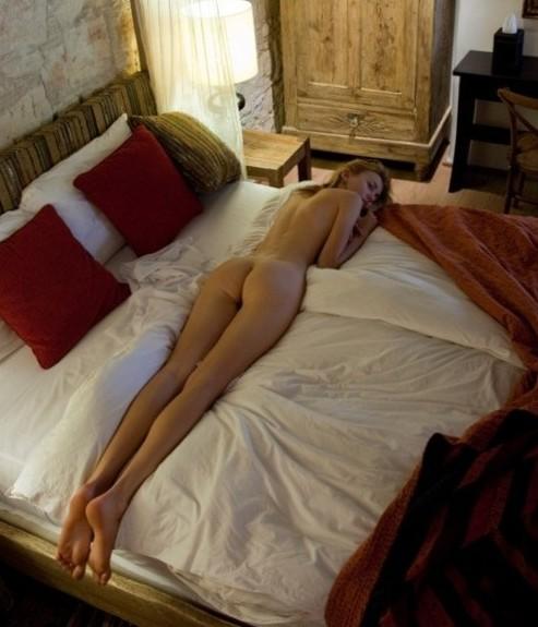 Hot Girl Lying in bed