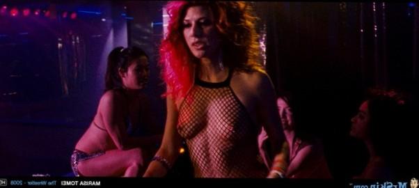 Marisa Tomei in hot fishnet bodysuit