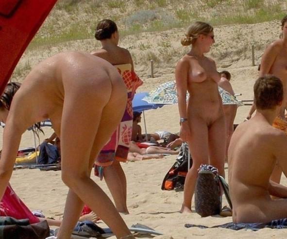 Fucking Beach - Blonde Beach Nude