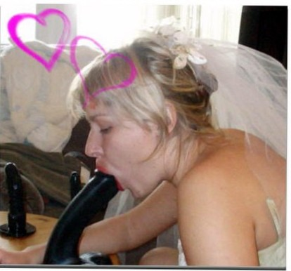 Blow Job bride to be