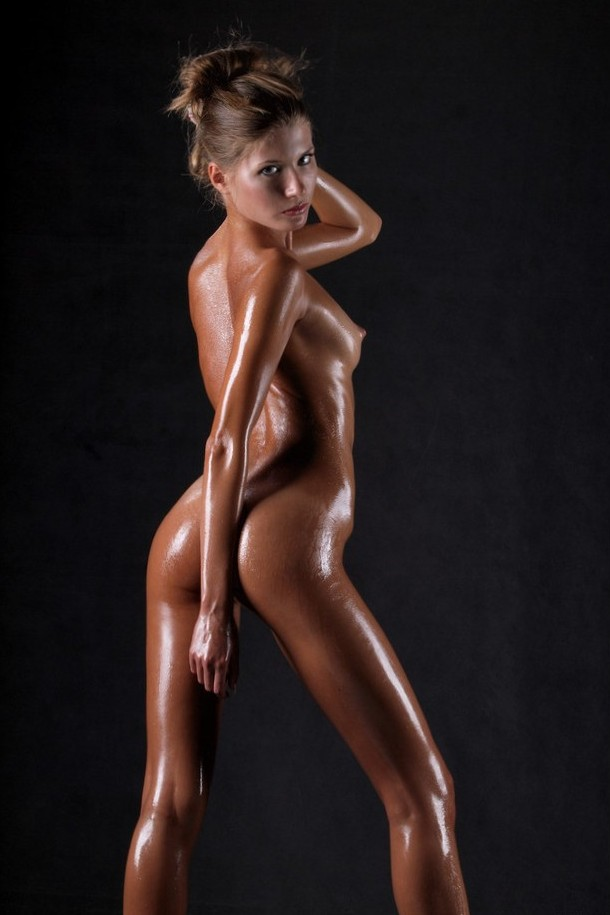 Sofia's steamy body nice and wet