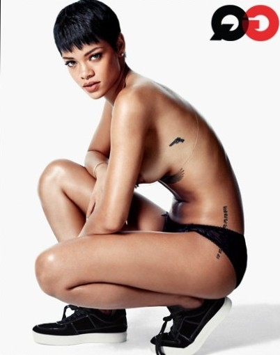 Rihanna Is GQ's Obsession of the Year   SexTeaze