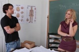 Sarah Vandella & Seth Gamble in My First Sex Teacher - Naughty America