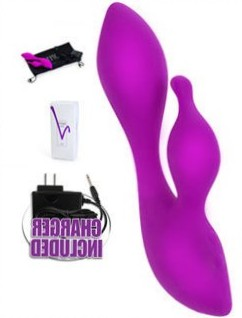The Jopen Vanity Vr4.5 is a rabbit style vibrator is the perfect size for women that do not want something that is a smaller size.