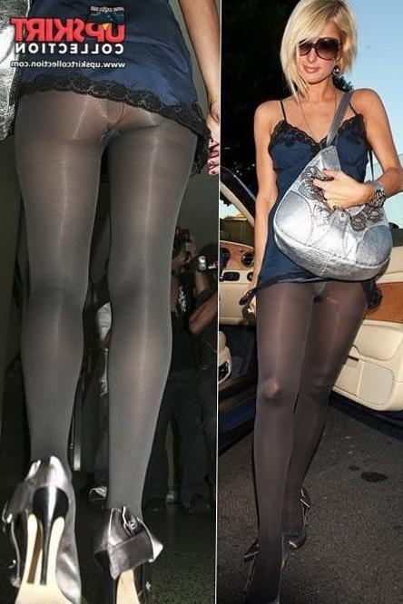 Upskirt of Paris Hilton