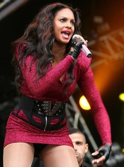 Alesha Dixon performing