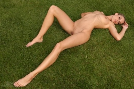 Beauty on the lawn